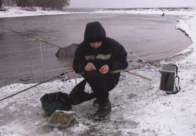 Использование наживок животного происхождения – это обязательное условие результативной зимней рыбалки