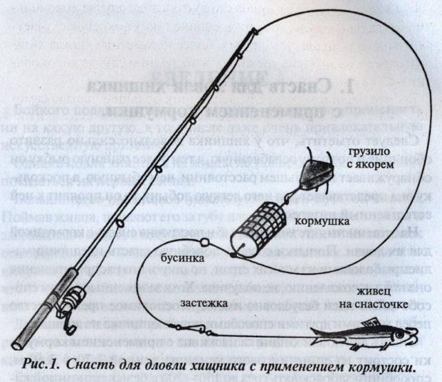 Другие заготавливают заранее все элементы, используя неодинаковую по толщине леску или обжимные трубки, и изготавливая 2-3 вида оснастки