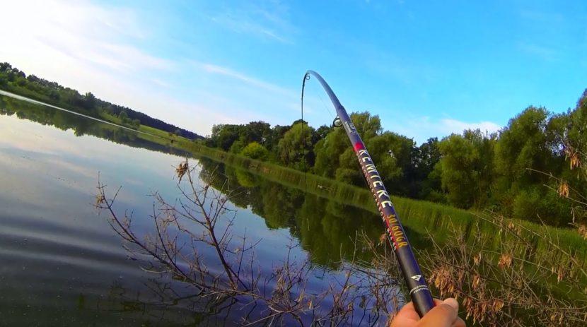 Поплавочная снасть для ловли на течении