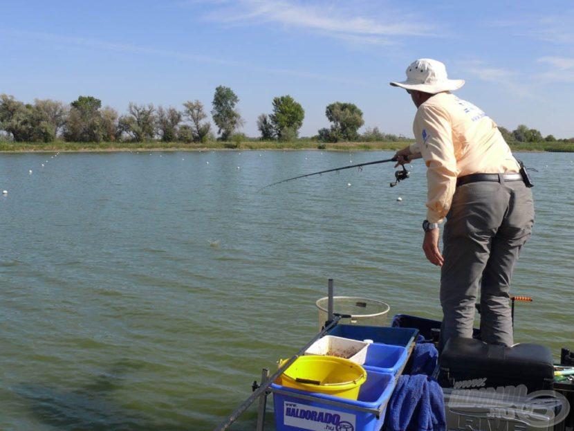 Ловля карася на фидер с кормушкой летом — Здесь рыба