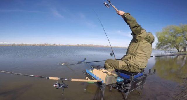 Правильное расположение снастей очень важно, особенно при ловле на быстром потоке