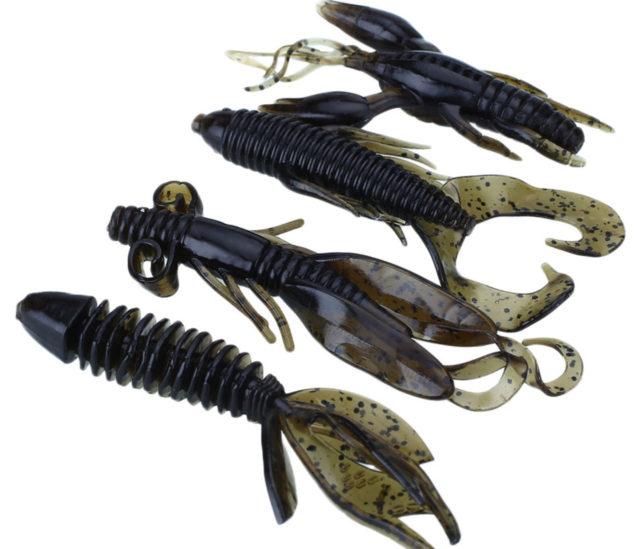 При ловле окуня используют мягкие и плавные проводки