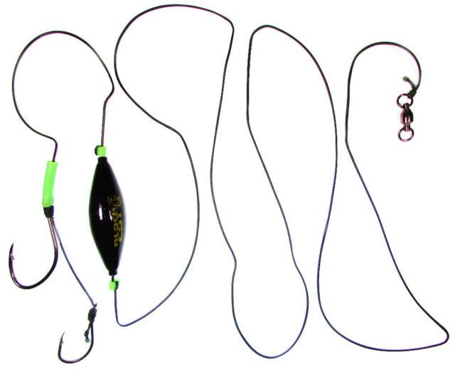 Более опытные рыболовы отказываются от использования дополнительных элементов оснастки, так как они ослабляют прочность всего устройства