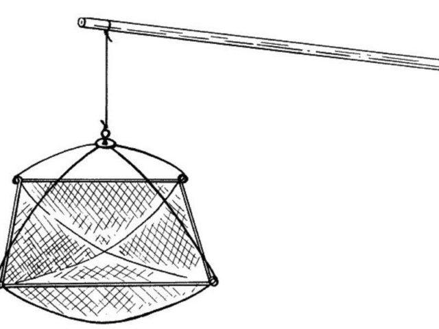 Сетка для паука рыболовного